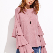 shein pull rose